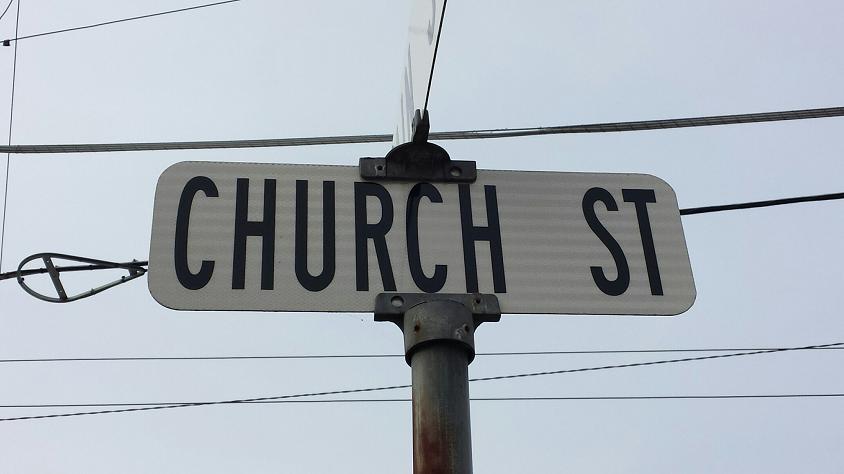 Curb and Sidewalk Repairs on Church Street